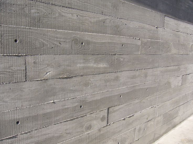 Concrete | ... concrete meant to appear as wood – the concrete was poured over wood