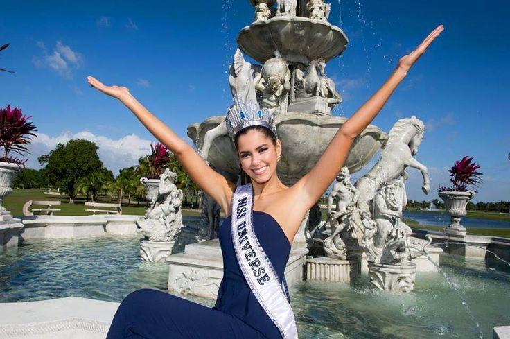 Disfrutando el primer día como Miss Universe