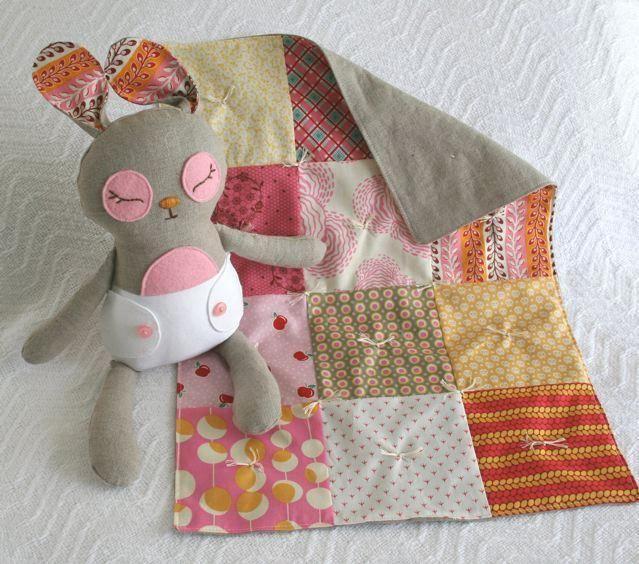Baby Binky Bunny Quilt Babies And Scrap