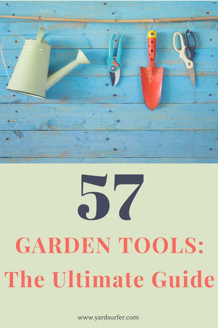 Garden Tools: The Complete List With Names | Gardening Tips And Tricks |  Pinterest | Gardening Tools And Gardens
