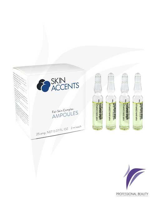Complejo Aclarante Caja x25 Ampolletas de 2ml: El complejo aclarante son sustancias activas concentradas que inhiben la formación de la melanina, mejorando y aclarando las pieles hiperpigmentadas.