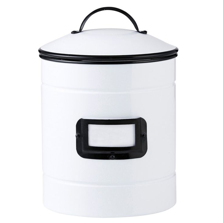 St Germaine Canister with Label Holder - Perfect Kitchen Storage