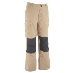 Pantaloni bambino 8-14 anni HIKE 900 beige
