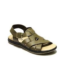 Dark Green Rexine & Rubber Sandals For Men casual & formal mens shoes, sneakers & boots with dresses. Buy from Nike, Adidas and other top brands. Buy at  www.priceblaze.pk