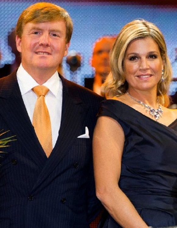 King Willem-Alexander and Queen Maxima of The Netherlands attends the kingdom's concert at the circus theater in Scheveningen, The Hague, 30.11.13.
