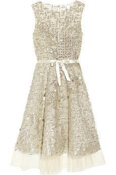 Oscar de la RentaFashion, Renta Embellishments, Birthday Parties, Clothing, Embellishments Tulle, Income, Of The, Tulle Dresses, Oscars