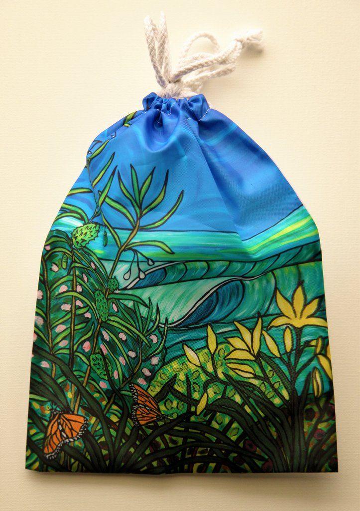 """Monarchs"" Drawstring Bag"