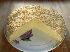 белый яблочный торт