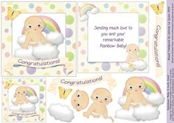 Rainbow Baby  on Craftsuprint - View Now!