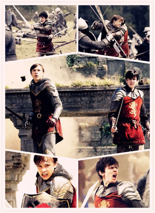 Peter and Edmund Pevensie, brothers.  (And every time I look at them now I think of Thor and Loki XD)