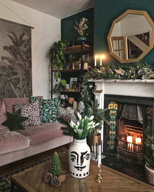How To Use Dark Green in Your Living Room — Melanie Jade ...