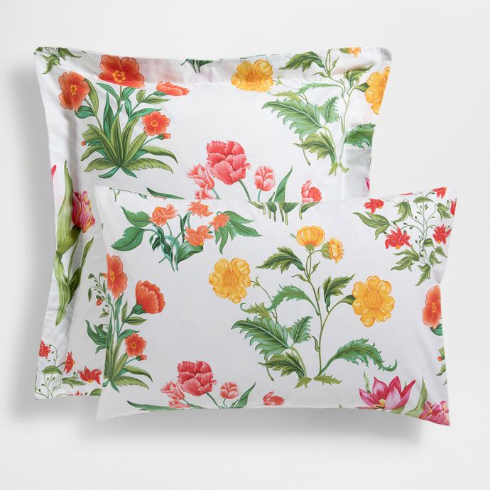 Multicoloured Floral Pillow Case - PILLOW CASES - BEDROOM | Zara Home United States of America