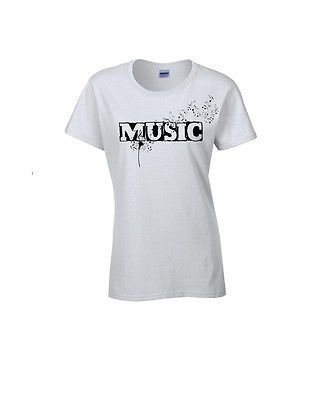 WOMEN'S fashion MUSIC STYLE T-SHIRT NEW CLOTHING TEE'S HIP HOP R&B  SIZE POPULAR