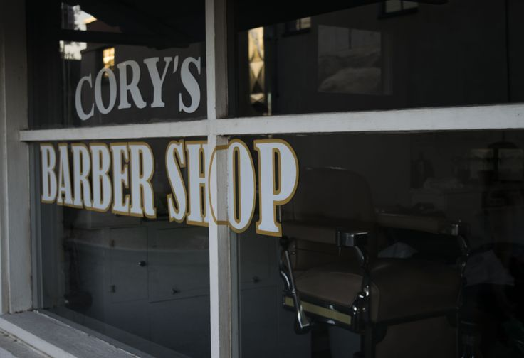 Get yourself a fresh trim at Cory's Barber Shop off of Main street in St. George.