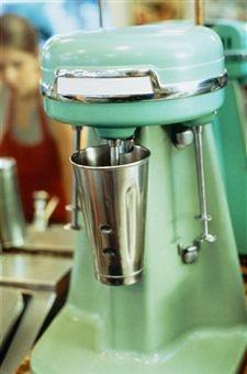 milkshake! My Mom had this exact one!! She made milk shakes and Boston Coolers--mmm!!!