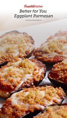 ... Eggplant on Pinterest | Baked Eggplant Slices, Baked Eggplant Parmesan