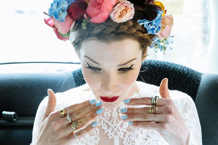 A Colourful and Cool East London and Frida Kahlo Inspired Wedding   Love My Dress® UK Wedding Blog