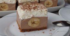 Pyszne czekoladowe ciasto z bananami bez pieczenia. Do ciasta można dodać dowolną ciemną czekoladę. Jak ktoś woli bardziej słodkie może dać ...