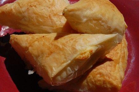 "Greek  Phyllo Cheese Triangles- ""Tiropetes""Greek Treats, Easter Recipe, Triangles Tiropet, Greek Cheese Triangles, Greek Phyllo, Greek Food, Favorite Recipe, Cheese Triangles Check, Phyllo Cheese"