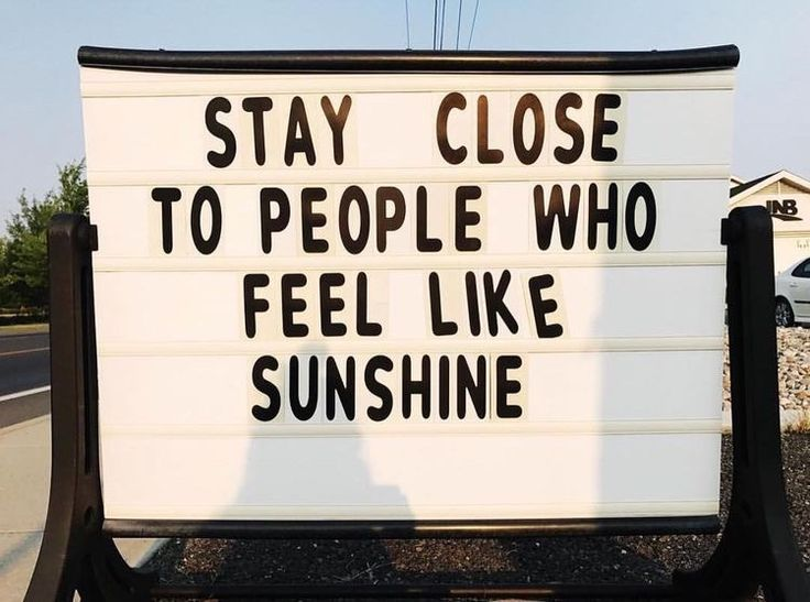 people who feel like sunshine