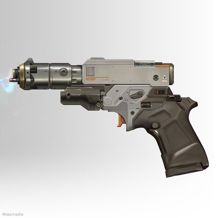 Arc Pistol, Thomas A. Szakolczay on ArtStation at https://www.artstation.com/artwork/BJ9x9