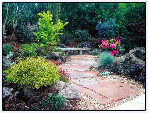 cool Landscaping With Rocks Ideas
