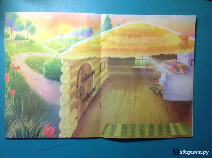 Иллюстрация 3 из 17 для Сказки с наклейками. Козлятки и волк   Лабиринт - игрушки. Источник: Kitsune