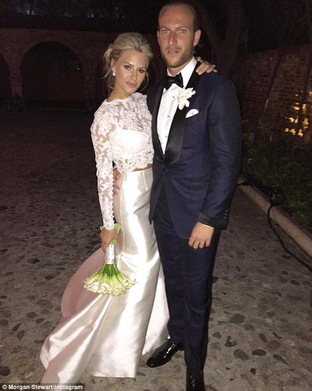 Happily ever after: The pair tied the knot in May at theHummingbird Nest Ranch in Santa Susana, California