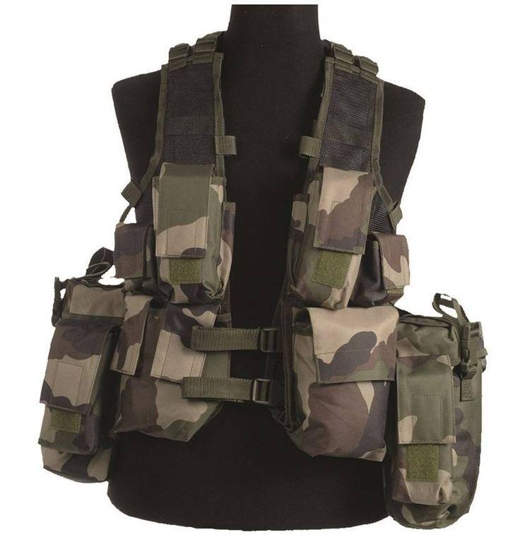 Mil-Tec Einsatzweste Tactical, 12-Taschen, CCE / mehr Infos auf: www.Guntia-Militaria-Shop.de