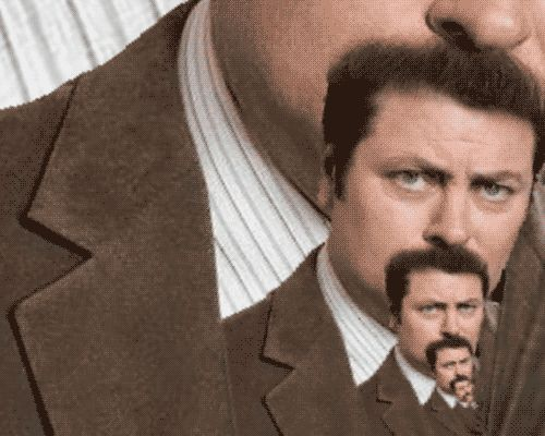 The 25 Best Ron Swanson GIFs on the Internet from GifGuide