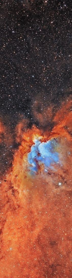 Wizard Nebula No Stars - Pics about space