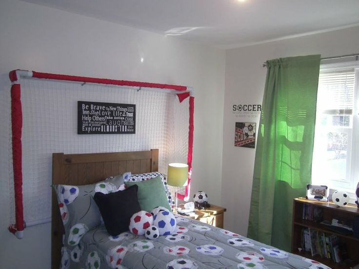 39 best soccer bedroom images on pinterest