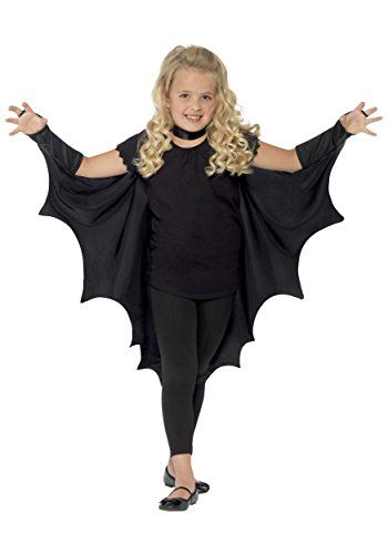 cool Vampire Bat Wings With High Collar Costume for Kids                                                                                                                                                     More