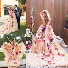 Princess Sweetheart Svadobné šaty Svadobné Kvety plesové šaty bez ramienok Vlastné