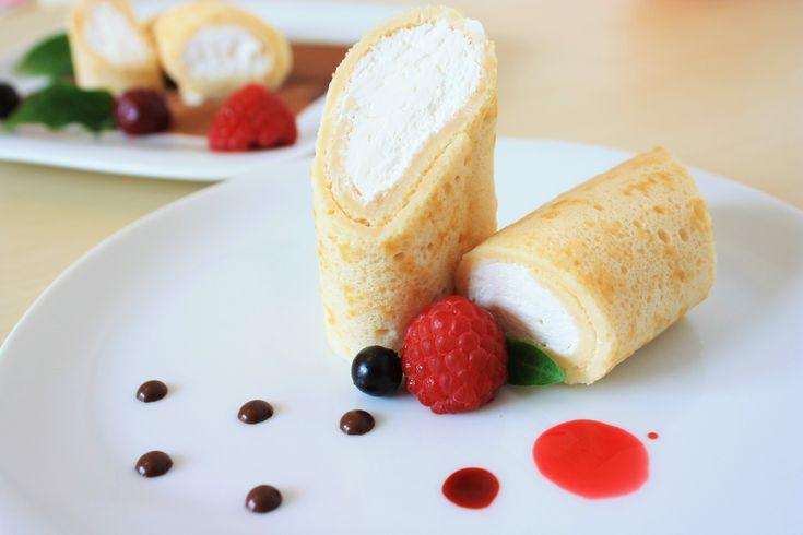Mascarpone Cream Crepes