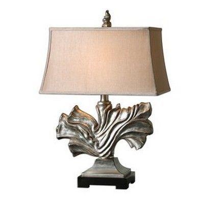 Uttermost Eirian Silver Table Lamp
