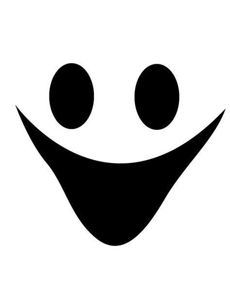 Image result for ghost face template printable Cricut ideas