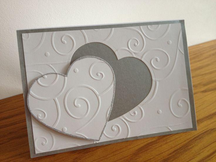 Wedding acceptance card, might make a good wedding card, or even invite.