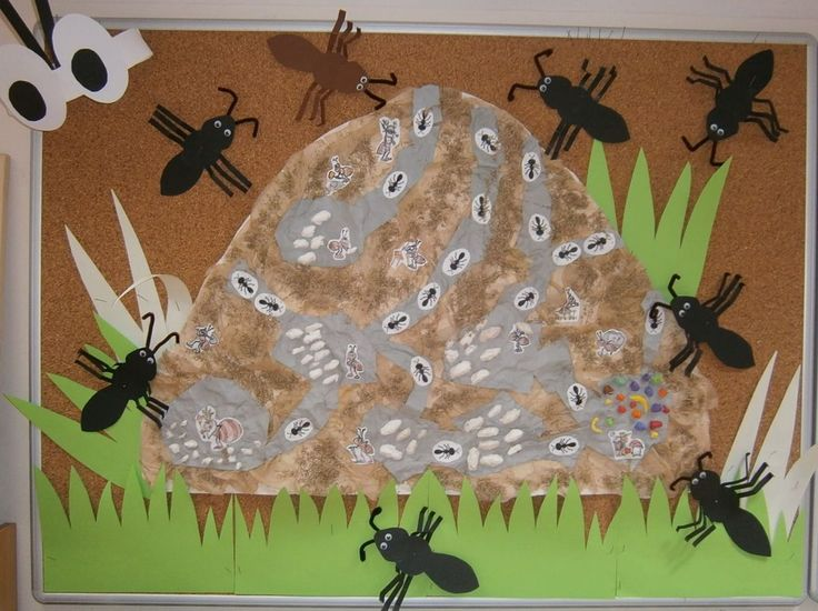 Mraveniště - společná práce dětí
