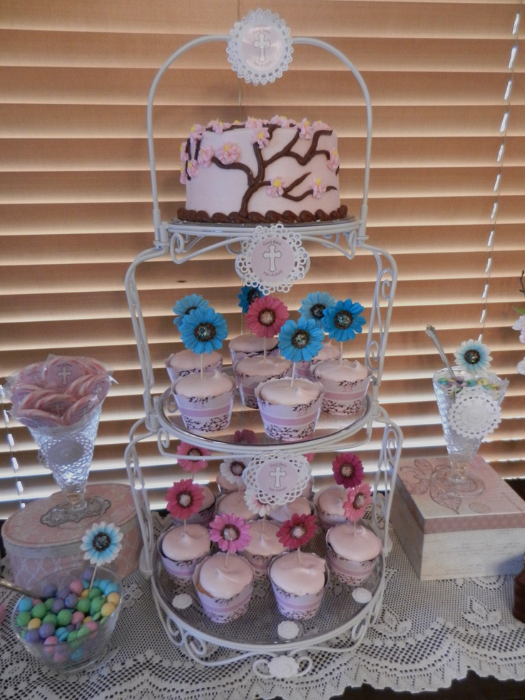 First Communion Cakes And Cupcakes