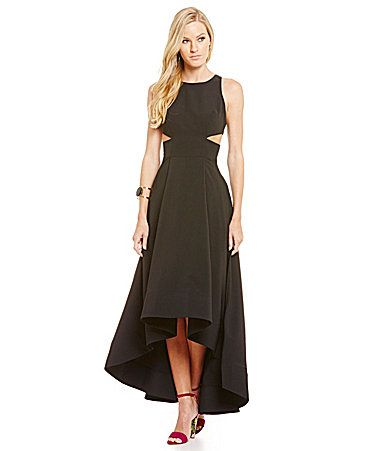 Aidan Aidan Mattox Cut Out Gown #Dillards