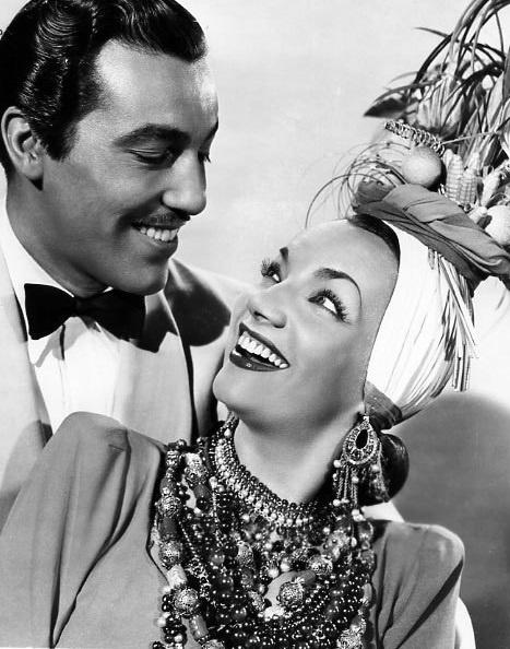 Cesar Romero & Carmen Miranda