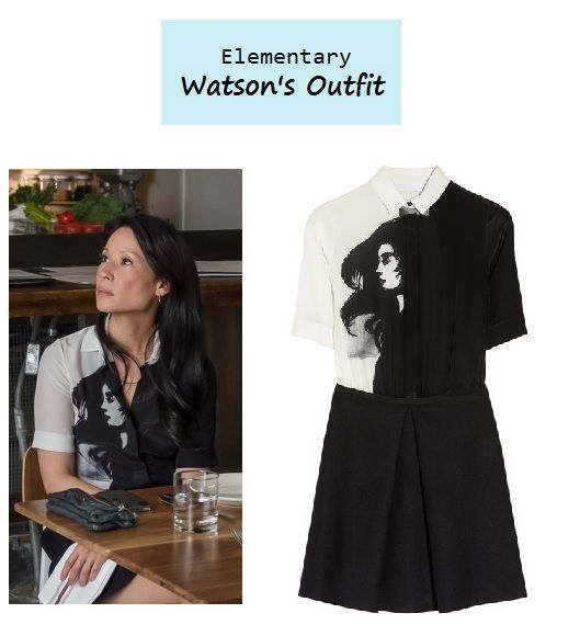 I'm such a fan of whoever does the styling Lucy Liu as Joan Watson in Elementary
