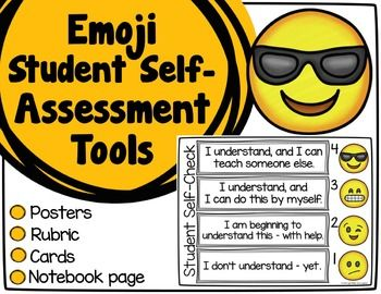 Give your students the tools to assess their own learning with these emoji style self-assessment tools! They are based on Marzano's levels of understanding, and include posters, student use cards, and a student response page.