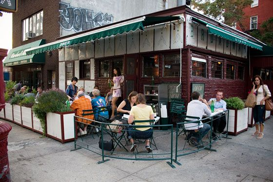 Diner - Williamsburg - Same owner as Marlowe & Sons. Ridiculously good burgers. (nymag photo)
