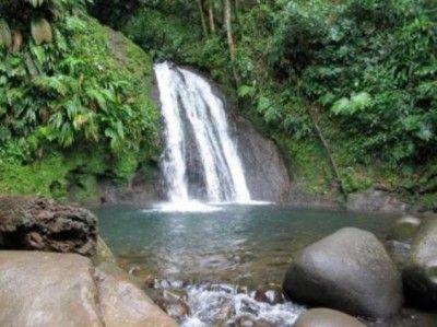 La Cascade aux Écrevisses #Guadeloupe