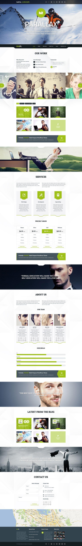 SIMPL clean modern Portfolio and Business Template by checkertobi.deviantart.com on @deviantART