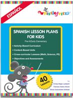Spanish Lesson Plans for Kids from Whistlefritz. I love the hands-on learning in these lessons for pre-k and early elementary! http://www.spanishplayground.net/spanish-lesson-plans-for-kids-whistlefritz/