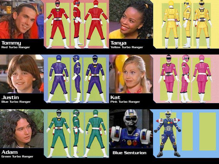 Power Rangers Turbo Season 5 Original Rangers by gera27.deviantart.com on @DeviantArt