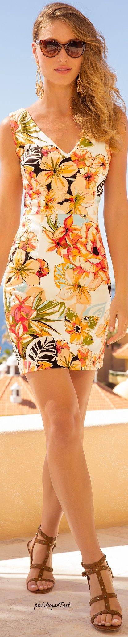 .Vestido floral - Primavera under chic
